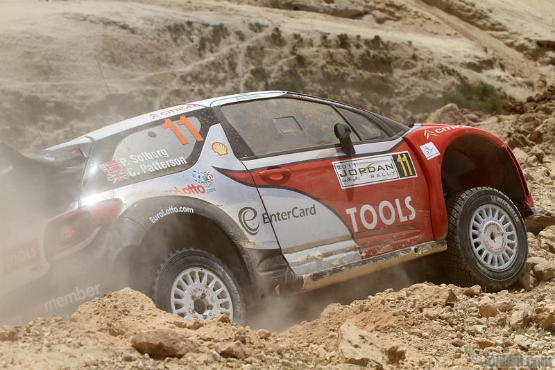 solberg p patterson c ( nor gb) citroen DS3 WRC jordaniel crash (j lillini) 25
