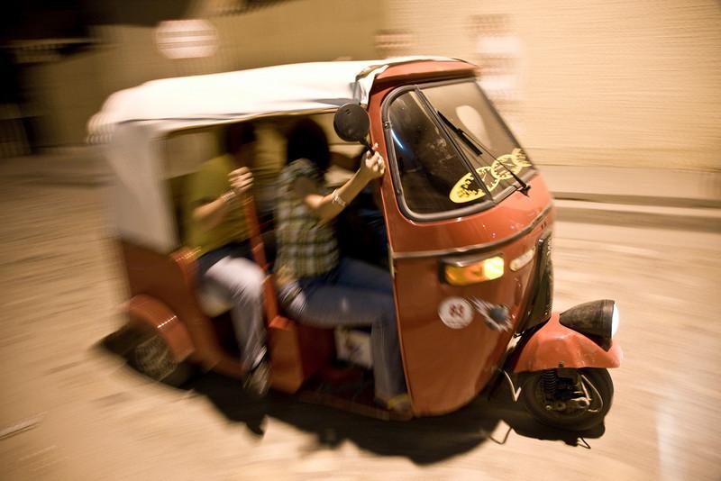 Taxi ride - Honduras