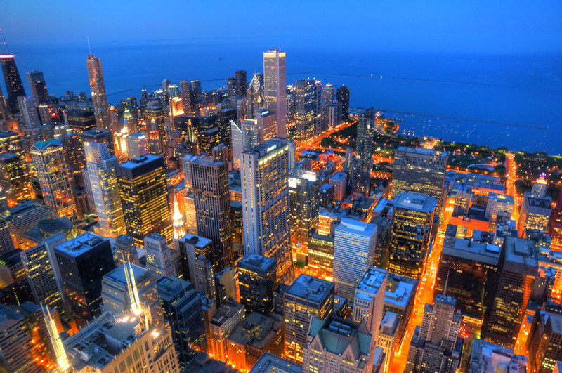 Chicago - City at Night