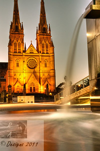 Saint Mary's Cathedral - Sydney CBD.