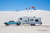 'White Sands Jump'<br /> White Sands, NM , March 2013<br /> Photo © Daniel Driensky 2013