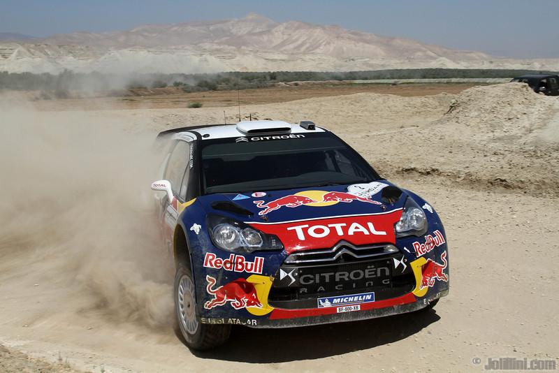 ogier s ingrassia j (fra) citroen DS3 WRC jordanie (jl) 15