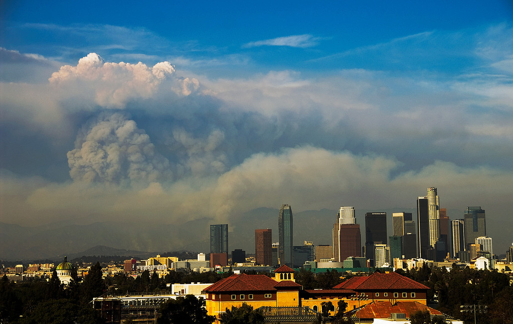 Wildfire in Los Angeles
