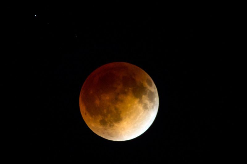 Blood Moon & Uranus