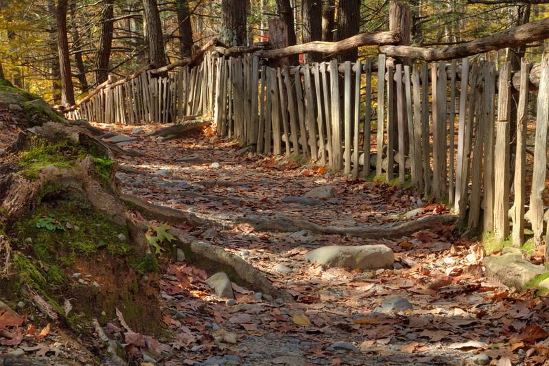 Bushkill Falls Trail