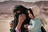 Bedouin Woman and children, Sinai Desert, Egypt