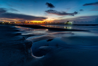 Folly Beach Pier Sunrise