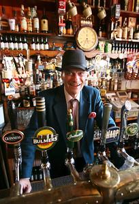 Oliver, keeper of Dick Mack's pub, Dingle, County Kerry, Ireland.