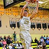 Hunter Cattoor dunks for Bishop Moore against Tavares.