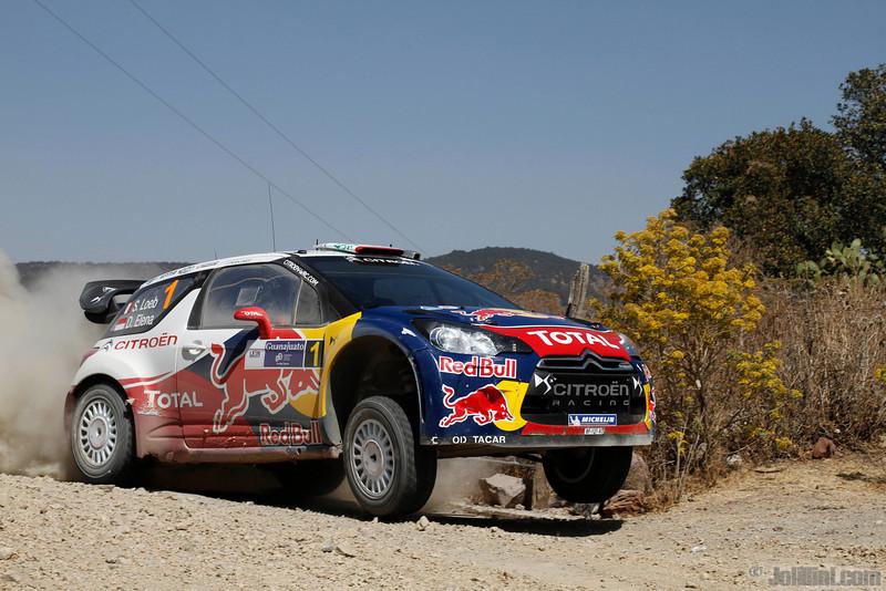 01 loeb s elena d (fra mc) citroen DS3 WRC mexique 39