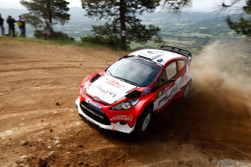 novikov e prevot s (rus bel) ford fiesta RS WRC sardaigne (jl)- 02