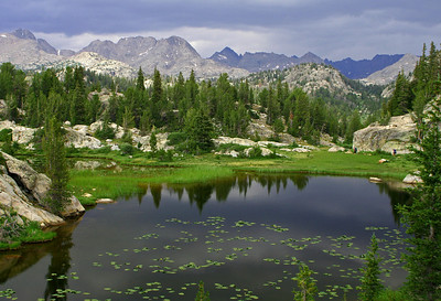 Wind River Range Backcountry.  Wyoming.