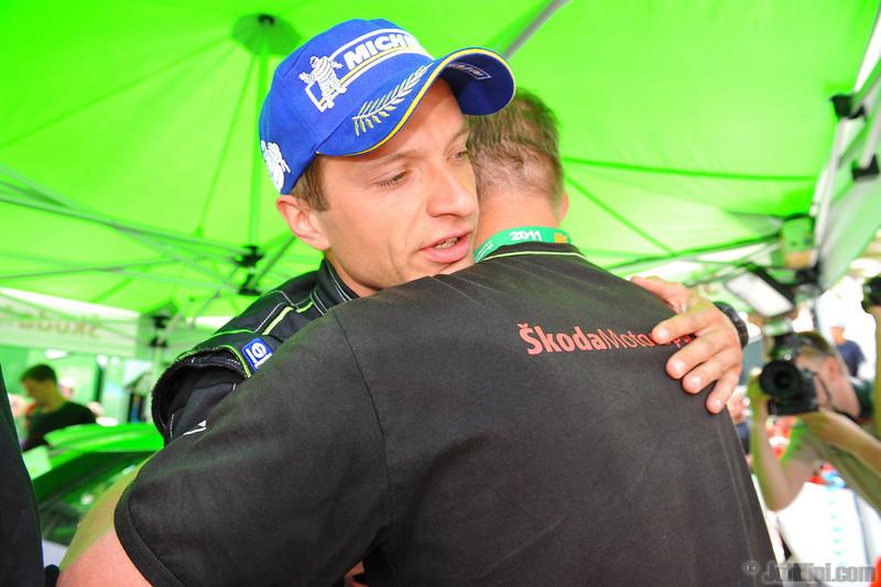 Juho Hanninen (FIN) Mikko Markkula (FIN) Skoda Fabia S2000, Skoda Motorsport