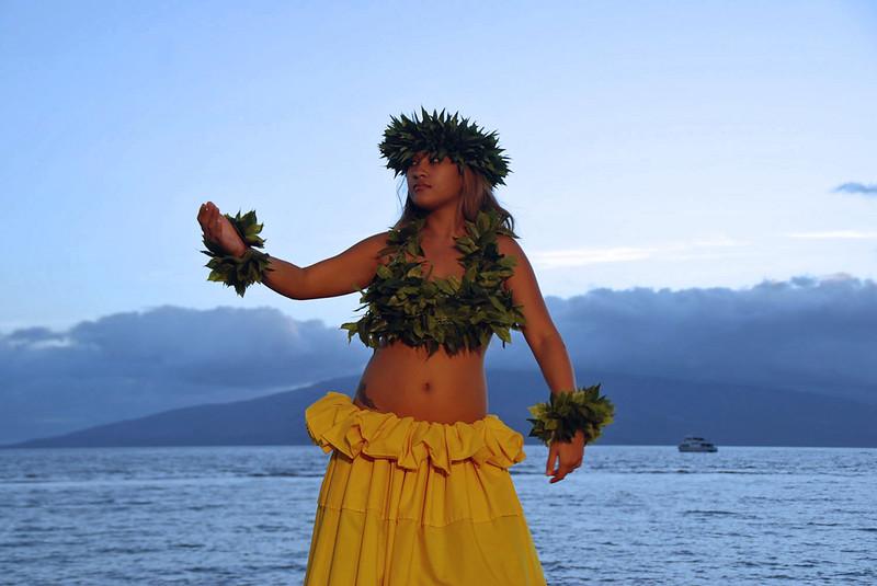 Feast at Lele - Hawaiian hula.