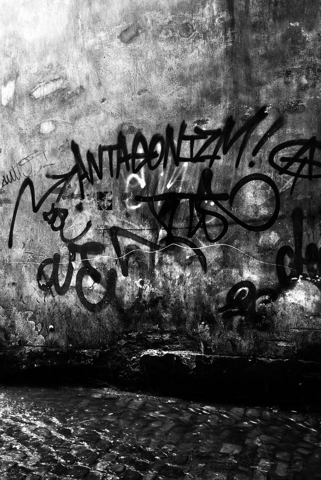 Wall writings in Prauge