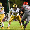 Matthew Prudhomme blocks for Bishop Moore against Edgewater.