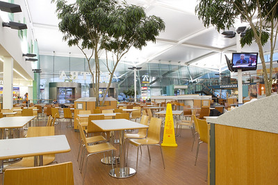 Beaconsfield Motorway Services on the M40 just after opening.