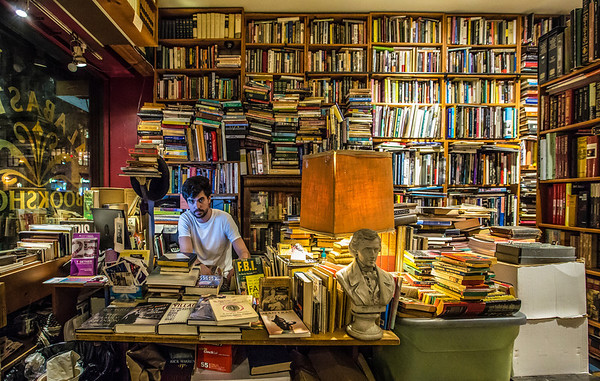 Peter, Alabaster Books NYC, Oct 2013<br /> Photo © Daniel Driensky