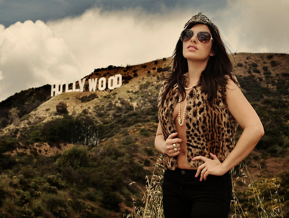 'Hollywood Queen'<br /> Model: Velvet la Valette<br /> Daniel Driensky © 2011