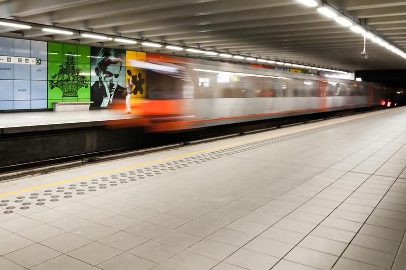 Heysel Metro, Brussels