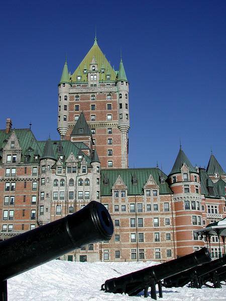 Le Chateau Frontenac - Quebec City