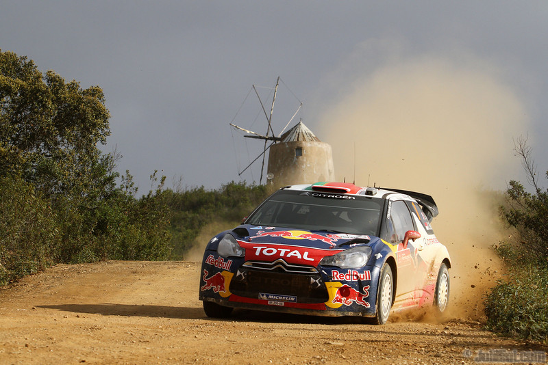 01 loeb s elena d (fra mc) citroen DS3 WRC portugal 77