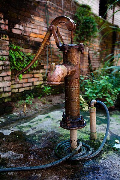Nepal water supply to some