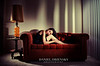 'Mona on a Red Sofa'<br /> Daniel Driensky © 2011