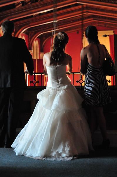 Bride Nelman, father and friend, Ohio, 2008