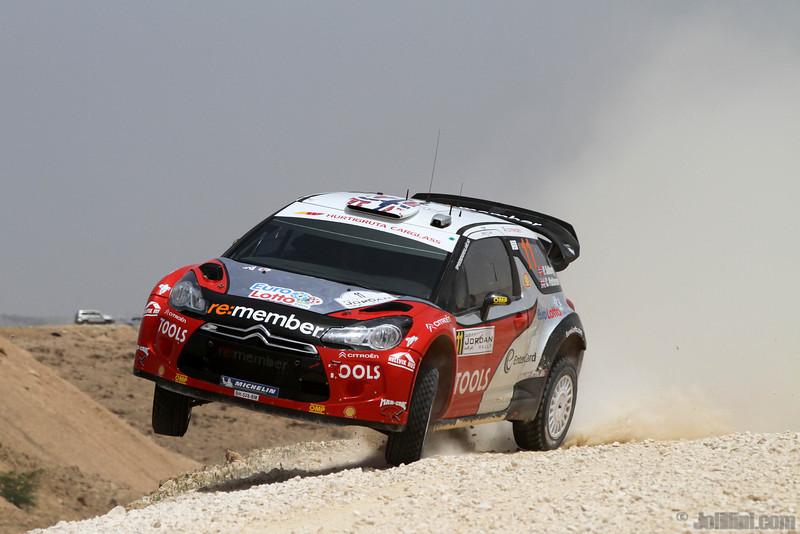 solberg p patterson c ( nor gb) citroen DS3 WRC jordanie crash (j lillini) 23