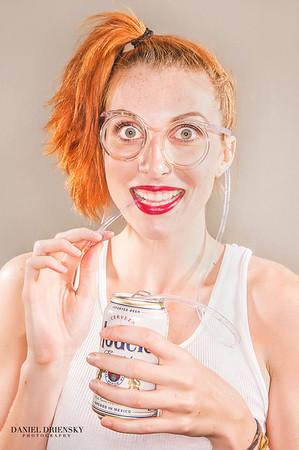 'Beer Goggles'<br /> model: Christie<br /> photo © Daniel Driensky 2012