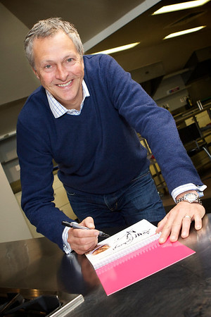 Nick Nairn Supports Maggies Cook Book