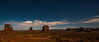'Monument Valley At Night Panoramic'<br /> May 2013<br /> Photo © Daniel Driensky