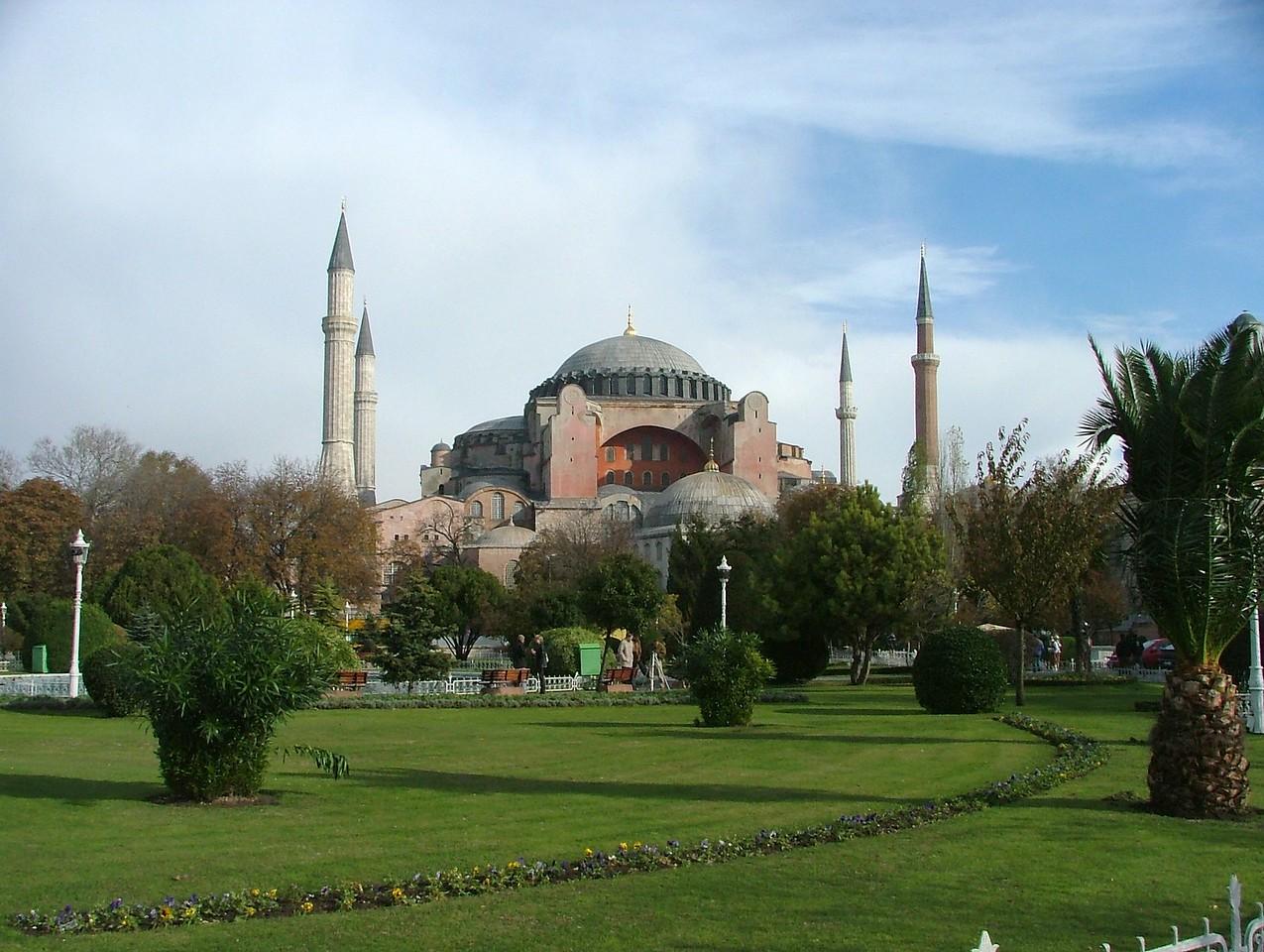 Aya Sofya, Sultanahmet, Istanbul