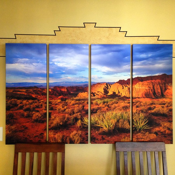 35 x 52 Quadtych (4 panel)