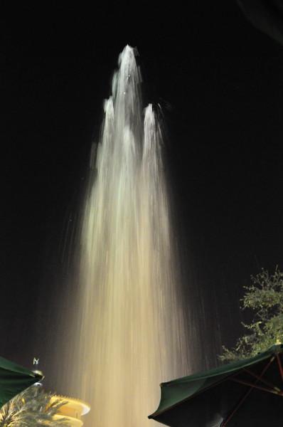 Fountain in West Palm Beach, Florida