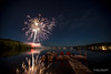'Fireworks on Silver Lake, Maine'<br /> August 2013<br /> Photo © Daniel Driensky