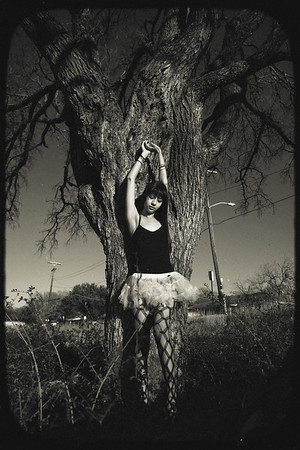 'Tuesday, 3:17pm, at one with nature'<br /> Model: Carmina<br /> Daniel Driensky © 2011