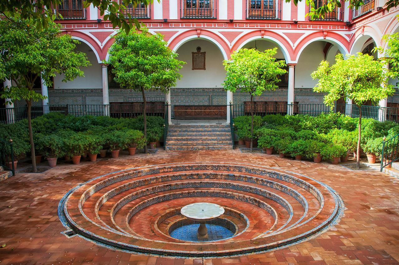 Seville courtyard