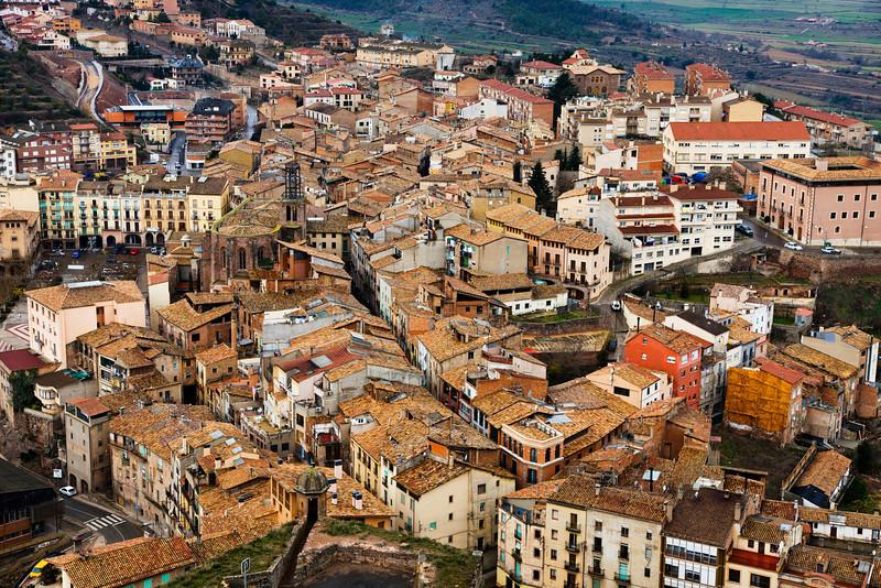 Rooftops in Spain