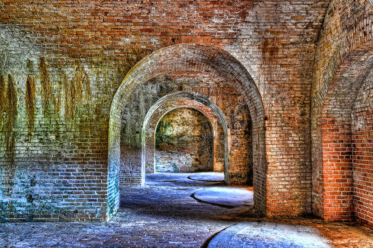 The Arches of Fort Pickens