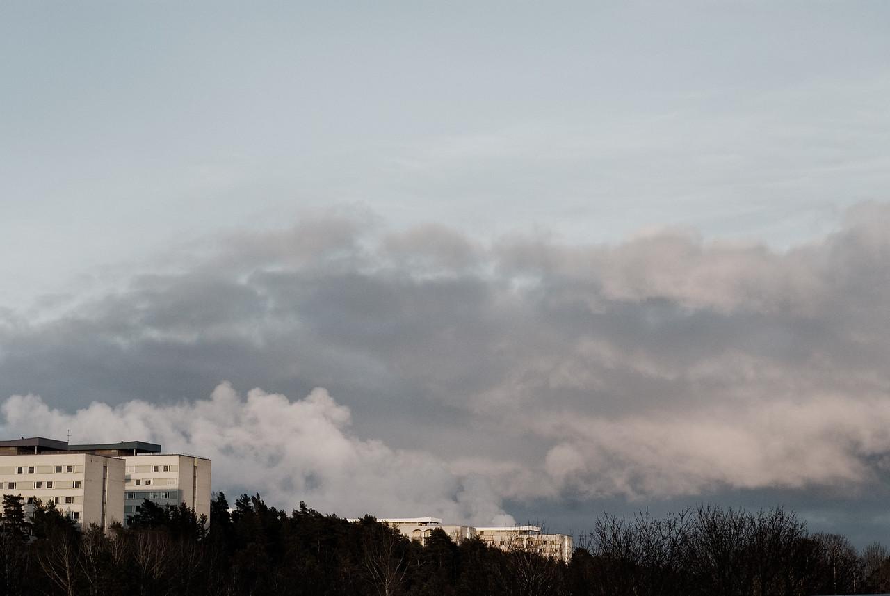 Flogsta studentbostäder i Uppsala