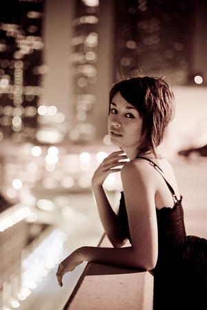 'Alyssa in Downtown Dallas'<br /> Model: Lyssa B.<br /> Daniel Driensky © 2008