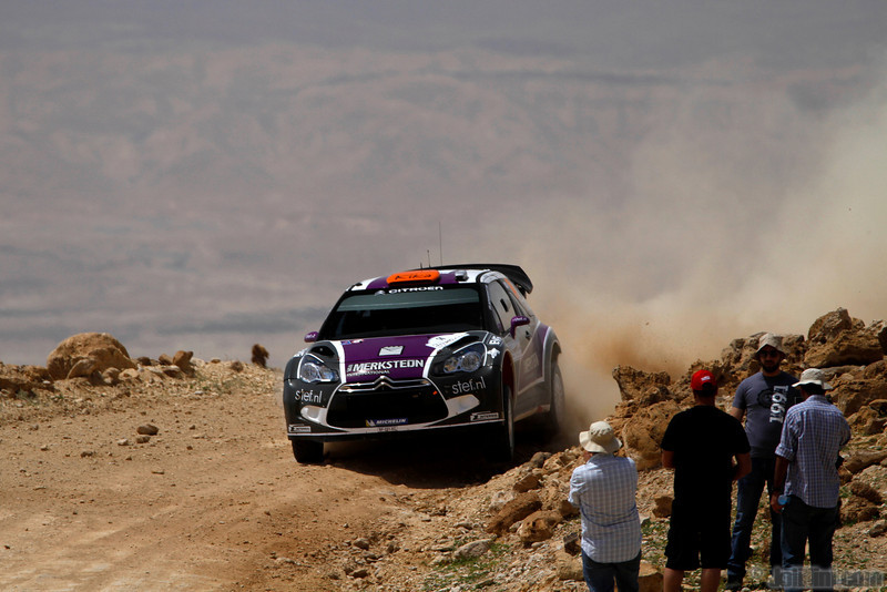 van merksteijn p chevaillier e ( nld bel) citroen DS3 WRC jordanie (j lillini) 2