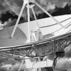 Very Large Array or VLA radio telescopes west of Socorro, New Mexico USA