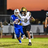 Janiero Crankfield has a long run for Bishop Moore against Harmony.