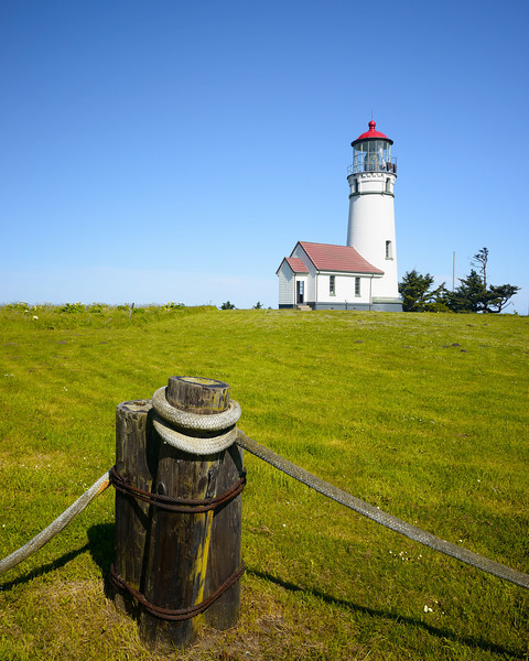 Cape Blanco Light, <br /> Cape Blanco State Park, Oregon