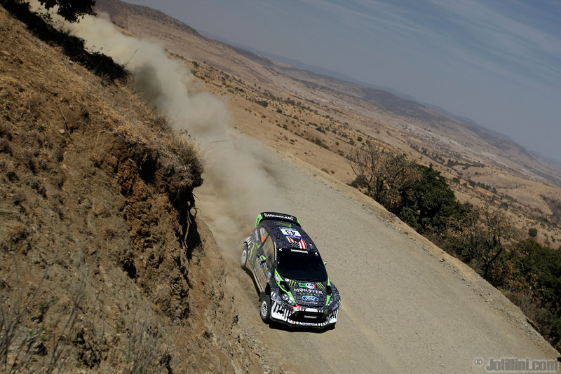 43 block k gelsomino a (usa ) ford fiesta RS WRC mexique 22