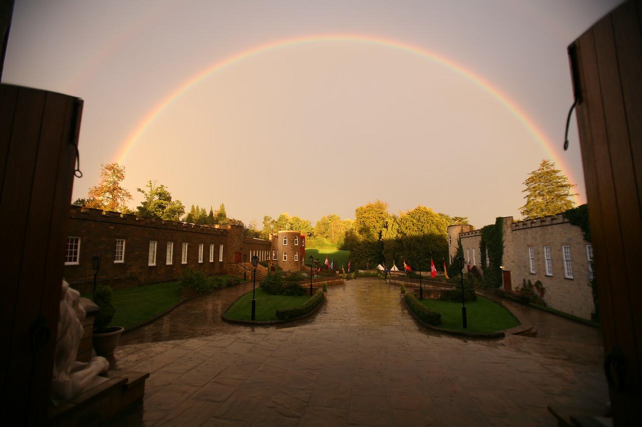 Rainbow over Southern England
