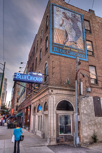 Blues clubs are found throughout the city